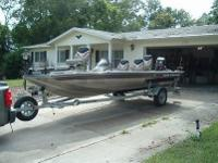 2004 Pro Crappie 175. One owner. All owners manuals.