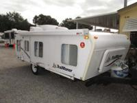 A 19' Folding Travel Trailer just 2,983 lbs needs a