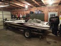 Really great boat. has every choice triton provided in