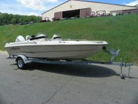 CLEAN 2004 TRIUMPH 190 DC! A 150 hp Johnson outboard