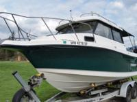 Trophy Pro 2359 Alaskan Bulkhead , Boat is located in