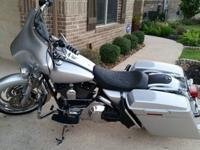 2004 HD Road King FLHR with only 6500+ miles. Yes, that