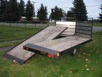 We have a nice multi-purpose trailer for sale. It's