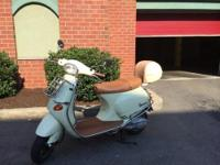 2004 Vespa E2 150 cc for sale. Low mileage - 5300. New