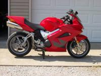2004 VFR800 with less than 13,000 miles. Good tires,