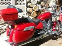 2004 Victory V92C low miles approx 14,600.00
