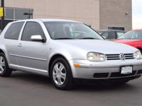 This 2004 Volkswagen Golf GL comes with Gray cloth
