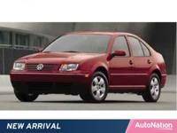Not an auction car, not a rental car, this Jetta Sedan