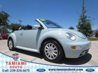 Come see this 2004 Volkswagen new Beetle Convertible