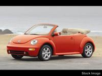 Introducing the 2004 Volkswagen New Beetle! This is an