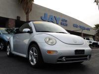 Options:  2004 Volkswagen New Beetle Convertible 2Dr