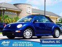 2004 Volkswagen Beetle in Blue. A total gas saver. Like
