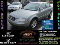 Options Included: N/A2004 Volkswagen Passat GLX for
