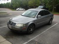 2004 Gray Volkswagen Passat GLX model with 107k miles
