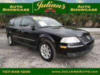We present to you this 2004 Volkswagen Passat wagon,