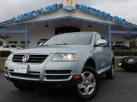 2004 Volkswagen Touareg AWD Powerful V6, 3.2 L engine