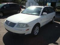 2004 VW PASSAT GLS STATION WAGON,4CYL WITH TURBO,A/T