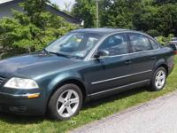 2004 Volkswagon Passat- Green with gray leather