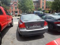 2004 Volvo S60 The color is Silver Leather interior