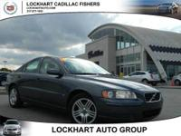 2004 VOLVO S60 SEDAN 4 DOOR 2.5T Our Location is: Andy