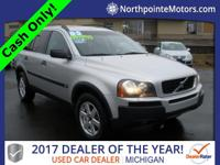 2004 Volvo XC90 2.5T   Mechanics Special!  Clean