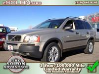2004 Volvo XC90 Sport Utility Our Location is: Dave