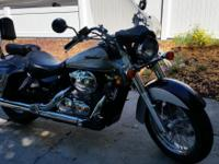 2004 VT Honda Shadow Aero Low mileage, excellent