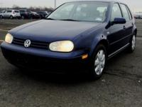 2004 VW Golf Gl,1 owner only and has a clean carfax,no