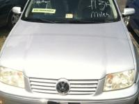 2004 VW Jetta - Silver-with leather interior 136k miles