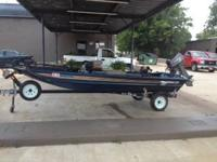 2004 Waco Crappie Boat with a 2006 Nissan 25hp 2