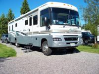2004 WINNEBAGO ADV. 38G WORKHORSE W/ALLISON TRANS. GAS,