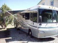 2004 Winnebago Journey Class A. This 36 foot RV has