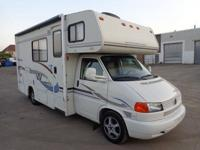 RV CAMPER WITH V6 2.8L GASOLINE ENGINE AND AUTOMATIC