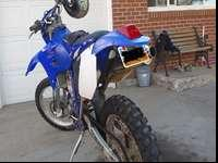 I am selling my 2004 WR450Fthis bike runs well and is