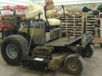 Good running mower. Has the 25hp Kohler engine. 60""
