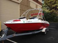 Used Yamaha AR210 jet boat runs excellent. The motors
