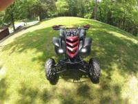 2004 Raptor 660... Has long A-arms and wide rear axle.