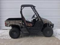 2004 Yamaha Rhino 660 auto 4x4 is in great shape and