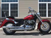 OOL TWO TONE! This V Star 650 cruiser just has 14951
