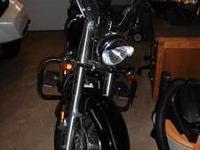 2004 V Star 1100cc with only 583 miles (Original Miles,