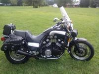 Low mileage (17,000), high speed! This motorcycle is