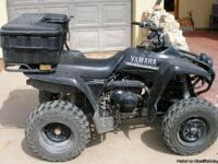 2004 Yamaha Wolverine 350cc 4-wheelers (2). Both easily