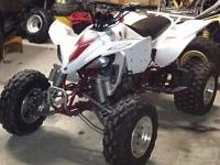 I have a 2004 yfz 450 for sale. It runs and drives