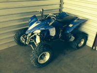 2004 Yamaha YFZ 450- - YFZ 450 new battery allways