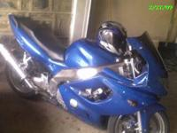 hi im selling my 2004 yzf chromed out 600 due to a work