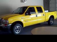2004 Ford f250 SUPERDUTY DIESEL *RACE CAR YELLOW*
