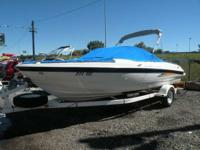 2004 Bayliner 205 with snap covers and mercruiser v8