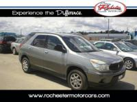 2004 Buick Rendezvous CX, FWD with 136,726 miles. This