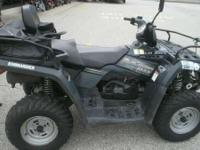 Mileage:1,573 MiYear:2004Condition:Used winch- 2 person