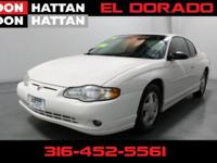 New Price! Clean CARFAX. White 2004 Chevrolet Monte